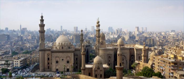 Hauptstadt Kairo in Ägypten