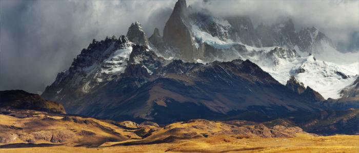 Anden-Gebirge in Patagonien, Argentinien
