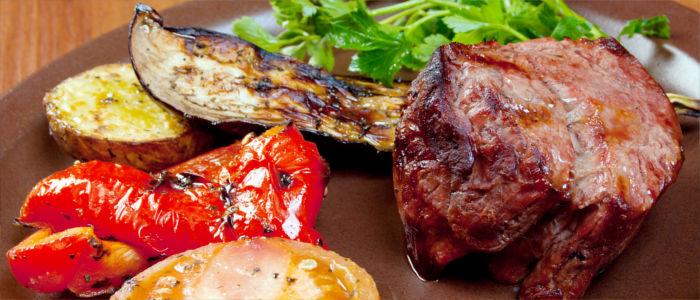 Rindersteak essen in Argentinien