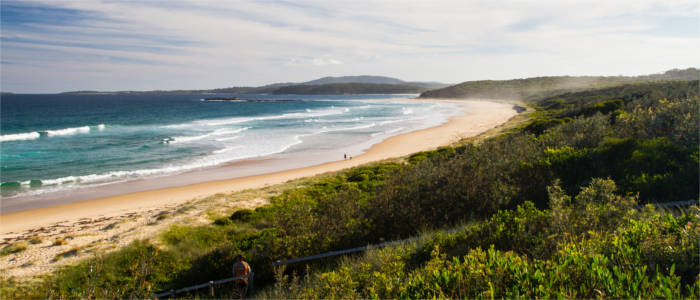 Strand in New South Wales