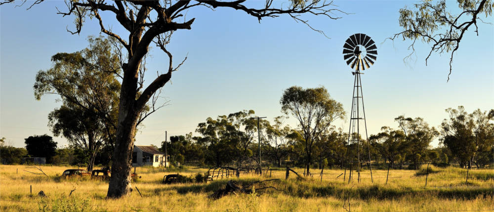 Farmland in Queensland