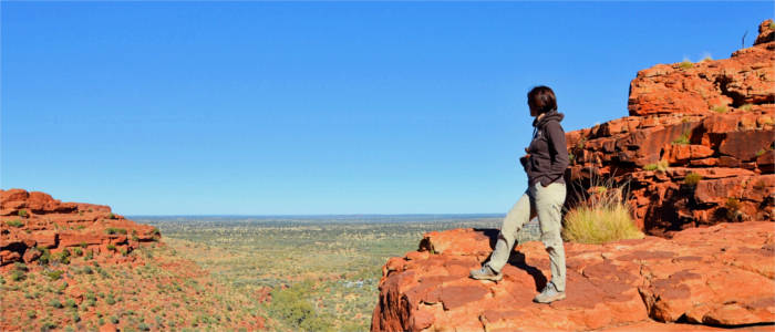 Wanderer im Red Centre - Northern Territory