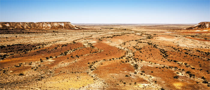 Trockene Landschaft in South Australia