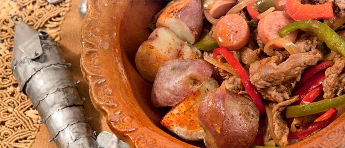 Pique Macho essen in Bolivien