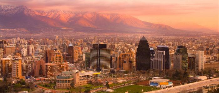 Haupstadt von Chile, Santiago de Chile