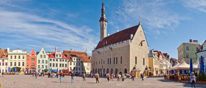 Platz in Tallinn, Estland