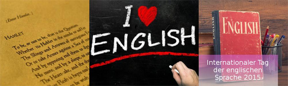 Welttag der englischen Sprache