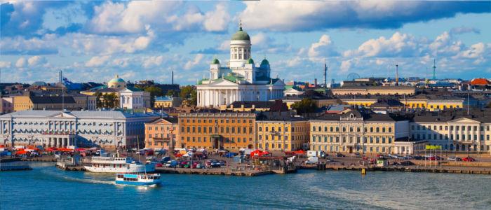 Hauptstadt Helsinki in Finnland