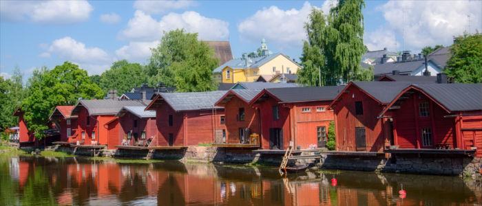 Holzhausviertel Provoo in Finnland