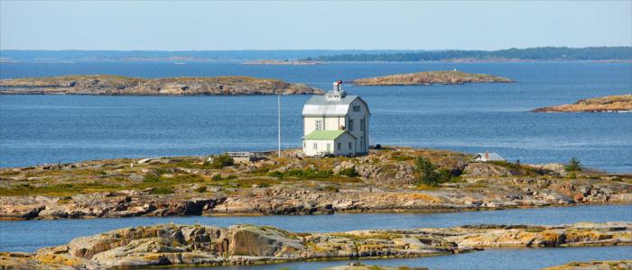 Inselgruppe Aland in Finnland