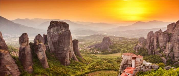 Meteora Klöster in Thessalien, Griechenland