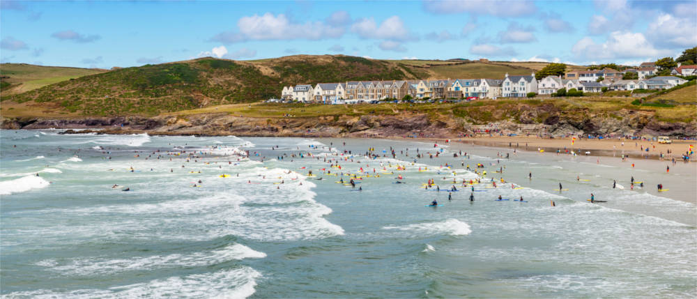 Strand bei Wadebridge in Cornwall