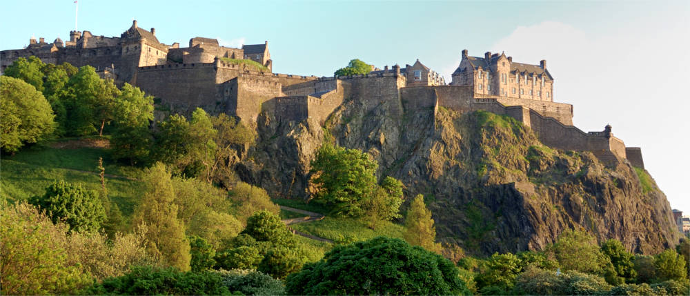 Schloss in Edinburgh