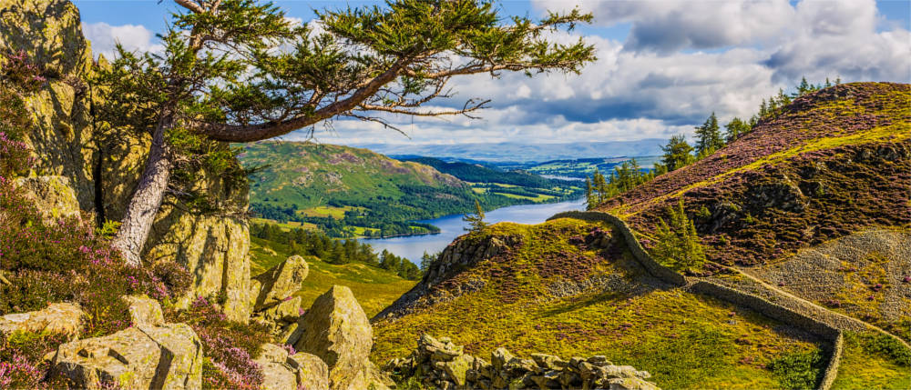 Der Lake District in Nordengland