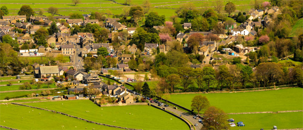 Castleton im Peak District Natoinalpark