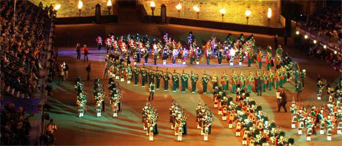Military Tattoo und Fringe Festival