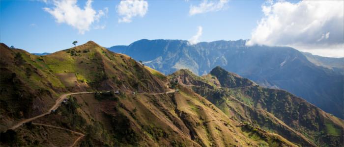 Berge in Haiti