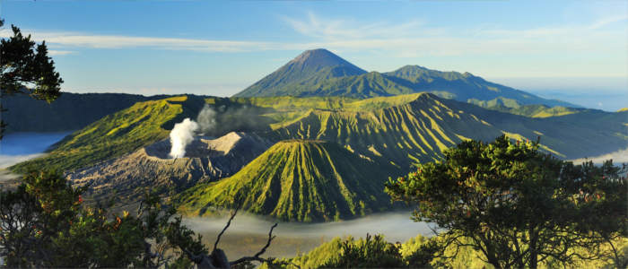Vulkanlandschaft Bromo Indonesien