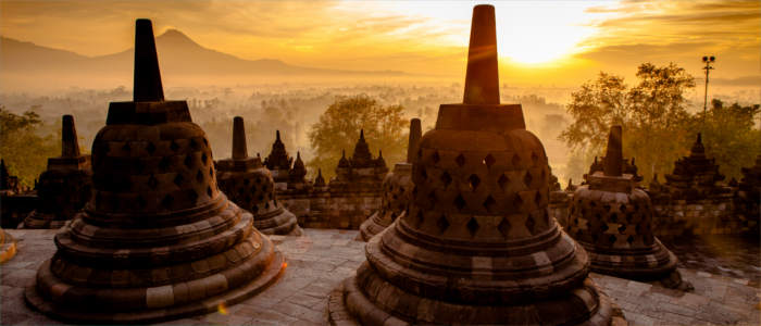 Borobudur in Indonesien