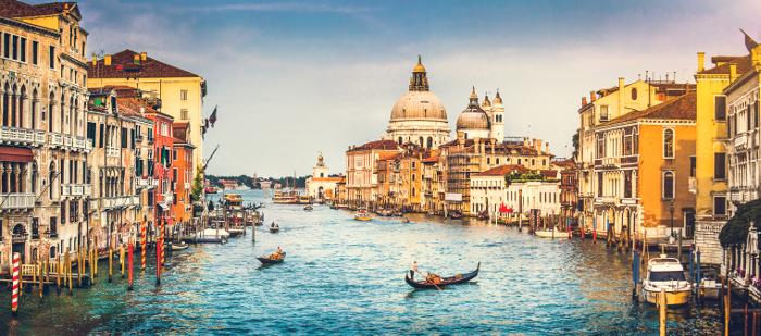 Canal Grande in Venedig - Italien