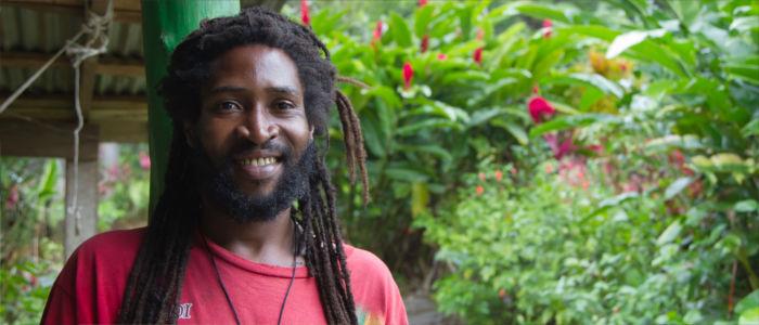 Menschen in Jamaika