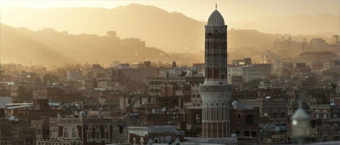 Hauptstadt Sanaa in Jemen