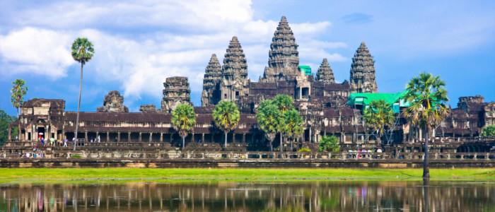 Angkor Wat Temeplanlage in Kambodscha