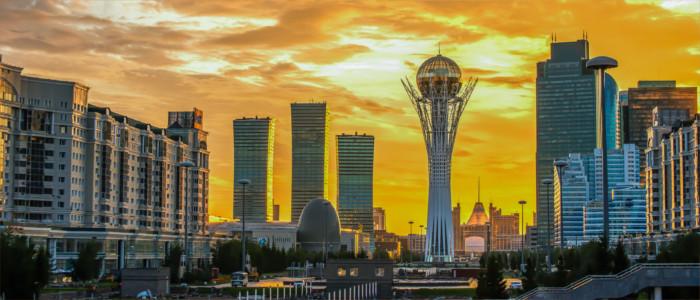 Hauptstadt Astana in Kasachstan