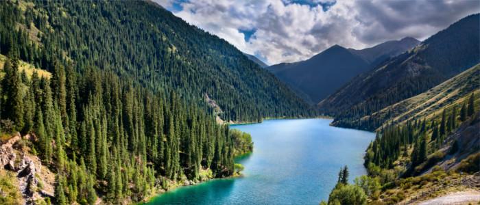 Kolsai See in Kasachstan