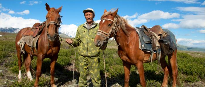 Menschen in Kasachstan