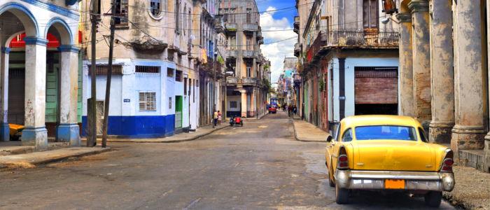 Auto in den Strassen von Kuba
