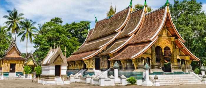 Wat Xieng Thong Tempel in Laos