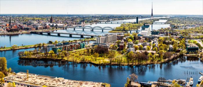 Hauptstadt Riga in Lettland