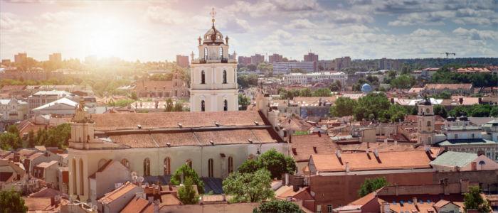 Altstadt von Vilnius in Litauen
