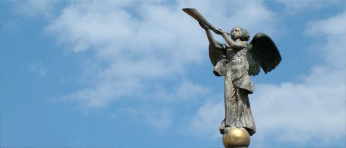 Engel bei Uzupis in Litauen