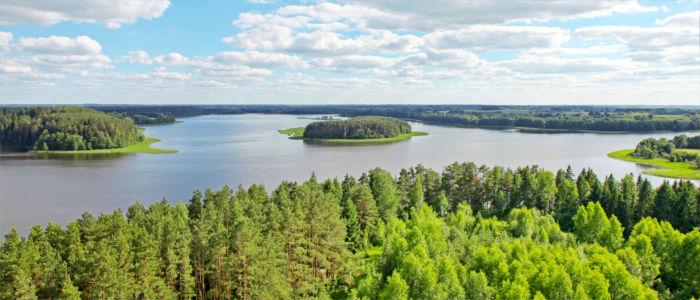 Seenlandschaft in Litauen