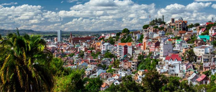 Hauptstadt Antananarivo in Madagaskar