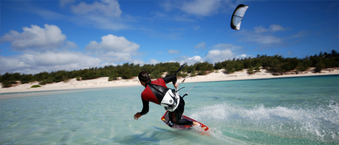 Kite-surfen in Madagaskar