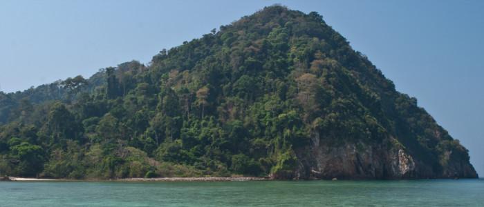 Mergui-Archipel in Myanmar