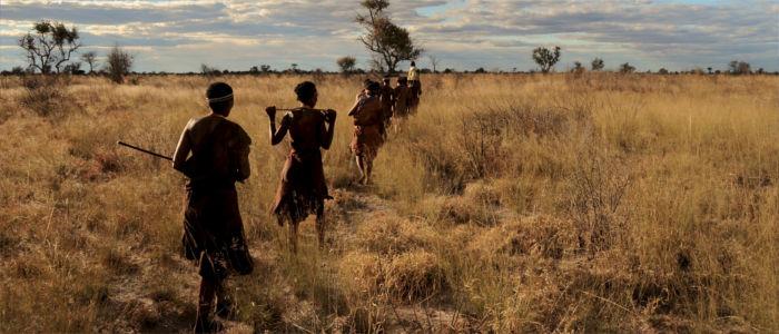 Menschen in Namibia