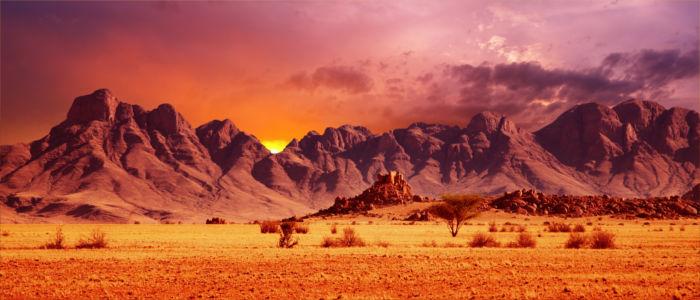 Gebirge in Namibia