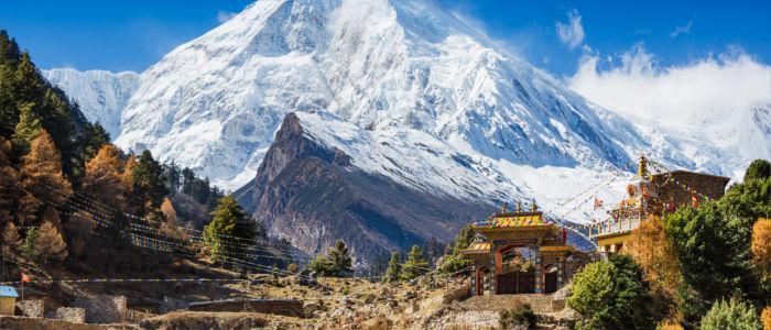 Himalaya Gebirge in Nepal