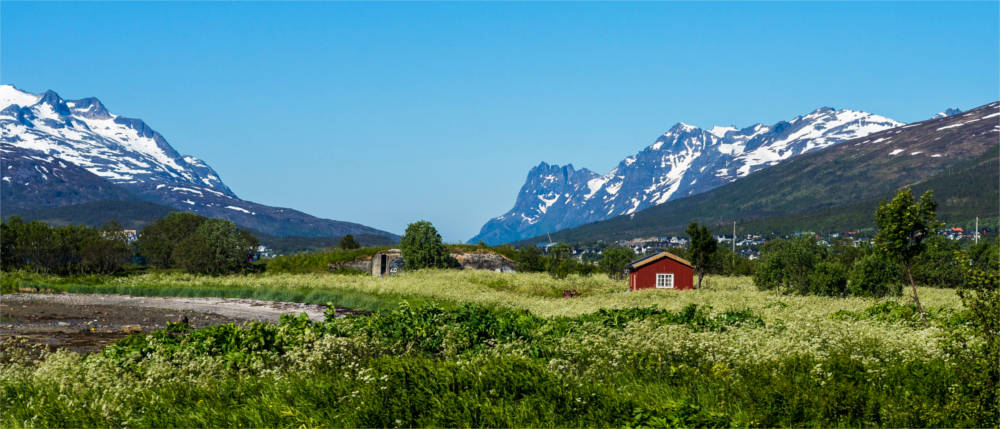 Landschaft in Troms