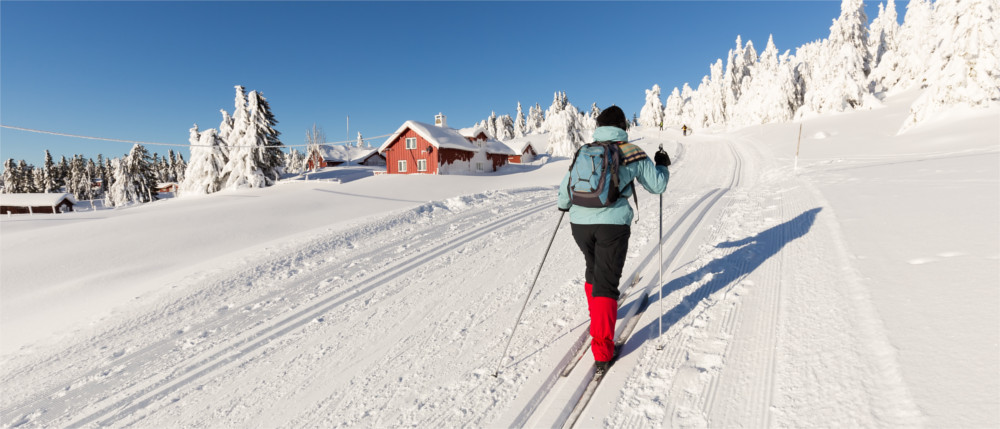 Wintersport in Oppland