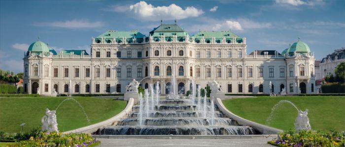 Schloss Belvedere in Wien, Österreich