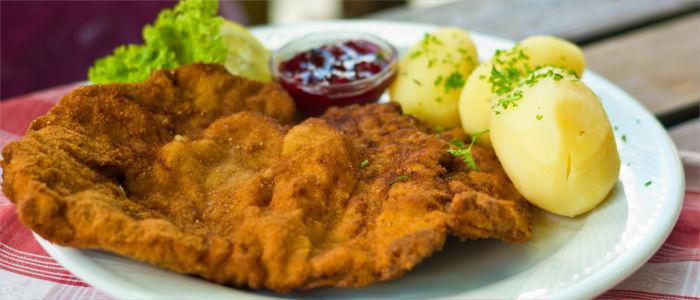 Nationalgericht von Österreich Wiener Schnitzel