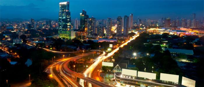 Nachtleben in Panama Stadt