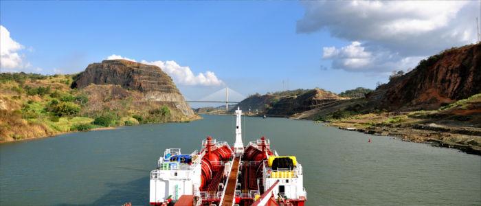 Schifffahrt auf dem Panama Kanal