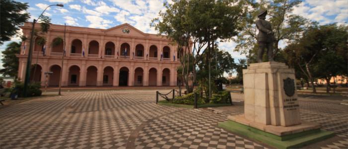 Hauptstadt Asuncion in Paraguay