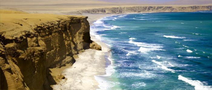 Die Küste von Peru